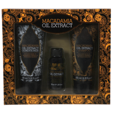 Dárková kazeta Macadamia Oil Extract šampon + kondicionér + vlasové sérum