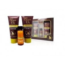 Dárková kazeta Argan Oil šampon + kondicionér + vlasové sérum