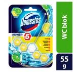 Domestos Power 5 Lime Toilet Rim Block 55g