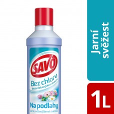 Savo Chlorine-Free Floors Spring Freshness 1000ml