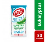 Savo Eucalyptus Cleaning Wipes 30 pcs