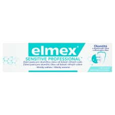 elmex Sensitive Professional Toothpaste for Immediate Relief of Sensitive Tooth Pain 75ml