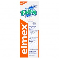 elmex Junior Mouthwash without Alcohol with Aminofluoride 6-12 Years 400ml