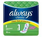 Always Classic Standard Sanitary Towels 10x