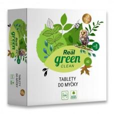 Real green clean tablety do myčky nádobí