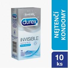 Durex Invisible Extra Thin Extra Sensitive Condoms 10 pcs