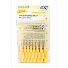 TEPE Mezizubní kartáčky 0,7 mm Extra Soft - žlutý