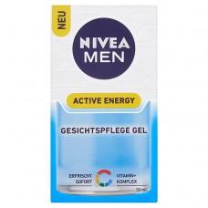 Nivea Men Active Energy Refreshing Face Gel 50ml