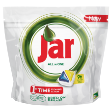 Jar All In One Dishwasher Tablets Lemon 96 per Pack