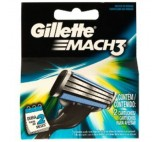 Gillette Mach3 Razor Blades For Men, 2 Refills