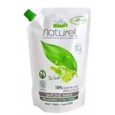 Winni's Naturel tekuté mýdlo se zeleným čajem a aloe vera