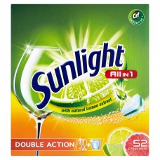 Sunlight All in 1 Citrus Tablets for the Dishwasher 52 pcs 910g