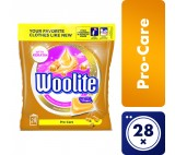 Woolite Pro-Care Gel Capsules Laundry 28 Washes 616g